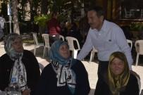 UTKU ÇAKIRÖZER - Başkan Ataç Engelli Ve Şehit Anneleri İle Kahvaltıda Buluştu