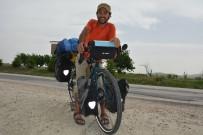 MAKEDONYA - Bisikletiyle İspanya'dan Yola Çıktı Açıklaması Şimdi Bilecik'te