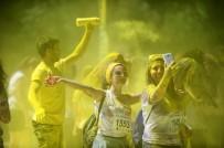 EFLATUN - Bursa'da En Renkli Koşu