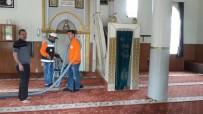 BAHAR TEMİZLİĞİ - Camilerde Ramazan Ayı Öncesi Bahar Temizliği