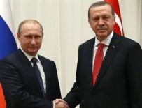 VLADIMIR PUTIN - Cumhurbaşkanı Erdoğan Putin ile görüştü
