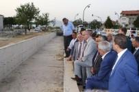 YÜRÜYÜŞ YOLU - Girne Caddesi'nde Dere Taşkınları Önleniyor