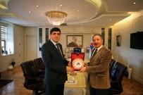 IÜ Rektörü Alma'dan AİÇÜ Rektörü Karabulut'a Ziyaret