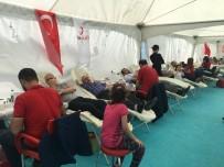 KÜÇÜKÇEKMECE BELEDİYESİ - Kan Bağışı Festivalinde Vatandaşlar Kan Vermek İçin Seferber Oldu