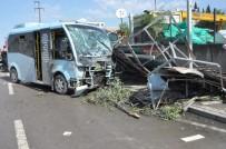 YOLCU TAŞIMACILIĞI - Minibüste Can Pazarı Açıklaması 7 Yaralı