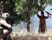 TIBBİ MALZEME - 5 terörist güvenlik güçlerine teslim oldu