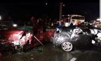 Trabzon'da Trafik Kazası Açıklaması 6 Yaralı