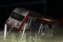 SELANIK - Yunanistan'da Tren Eve Çarptı Açıklaması 2 Ölü