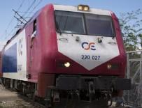YOLCU TRENİ - Yunanistan'da tren kazası