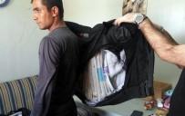 Afgan Yolcunun Montuna Gizlediği Uyuşturucu Ele Geçirildi