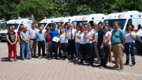 İŞ KAZASI - Antalya'da 112 Ambulansları Dünyanın Çevresini 87 Kez Dolaştı