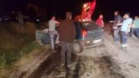 Balıkesir'de Feci Kaza Açıklaması 2 Ölü, 3 Yaralı