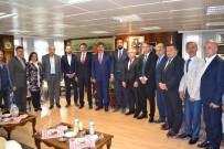 BİLGİ EVLERİ - Başkan Ak'tan Muş Belediyesine Ziyaret