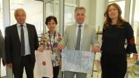 Burhaniye'de Ebru Sergisi Açıldı