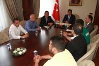 İZZETTIN KÜÇÜK - Bursaspor Tribün Liderleri Vali Küçük İle Buluştu