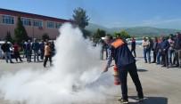 SÖNDÜRME TÜPÜ - Büyükşehir Belediyesi Personeline Sivil Savunma Eğitimi