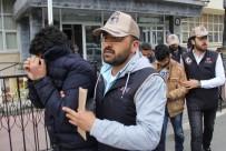 HAREKAT POLİSİ - DEAŞ'ın Hücre Evine Operasyondan 5 Kişi Adliyeye Sevk Edildi
