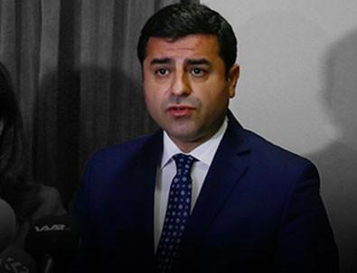 Demirtaş'tan CHP'li Erdem'e yalanlama