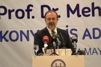 DEVLET MEMURU - Diyanet İşleri Başkanı Mehmet Görmez Konya'da İş Adamlarıyla Buluştu