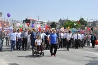 DANS GÖSTERİSİ - Engeliler Haftası'nda 'Farkındalık' Yürüyüşü