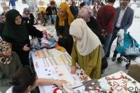 EYÜP SULTAN - Eyüplü Kadınların Çalışmaları Eyüp Sultan Meydanı'nda Sergilendi