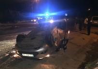 Gölbaşı İlçesinde Köpeğe Çarpan Otomobildeki 2 Kişi Ağır Yaralandı