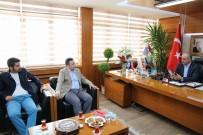 İHA Sivas Bölge Müdürlüğü'nden Başkan Aydın'a Ziyaret