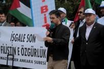 BİR AYRILIK - İsrail'in Filistin'i İşgali 69. Yılında Ankara'da Protesto Edildi