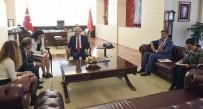DANIMARKA - Kılıçdaroğlu Danimarka Büyükelçisi İle Görüştü