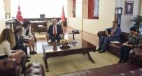 DANIMARKA - Kılıçdaroğlu, Danimarka Krallığı Ankara Büyükelçisi Olling İle Görüştü