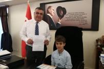 Minik Alp'ten Başkan Kesimoğlu'na Mektup