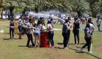 KOÇAK - Öğrenciler Su Savaşıyla Stres Attı