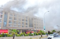 Ordu'da 5 Yıldızlı Otelde Yangın