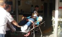 KARAKÖPRÜ - Şanlıurfa'da Zincirleme Trafik Kazası Açıklaması 1 Yaralı