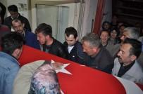 CENAZE ARACI - Silopi'de Şehit Olan Askerin Naaşı Memleketine Getirildi