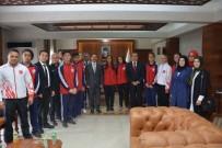 Sporcu Gençler Vali Aktaş'ı Ziyaret Etti