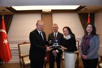 KANADA - Trabzon Valisi Yavuz,  Kanada Ankara Büyükelçisi Chris Cooter'İ Kabul Etti