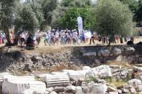 OLİMPİYAT KOMİTESİ - Türkiye'de İlk Defa Antik Kentte Olimpik Gün Kutlaması