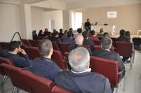 İŞ SAĞLIĞI VE GÜVENLİĞİ KANUNU - Yüksekova'da 'İş Sağlığı Ve Güvenliği' Eğitimi