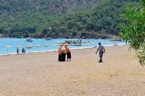 HÜSAMETTIN ÇETINKAYA - Adrasan Sahili Yaz Sezonuna Hazır