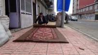 KIŞ MEVSİMİ - Ağrı'da Keçe Mesleği İçin Teknolojiye Meydan Okuyor