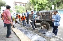 Başkan Atilla, Kaldırım Çalışmalarını Denetledi