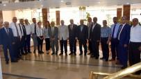 MEHMET AKıN - Başkan Kayda, MHP İlçe Yönetimini Ağırladı