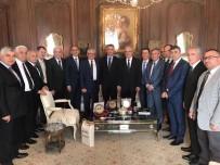 ERDEM BAŞÇI - Başkan Yanılmaz Harput İçin Paris'te