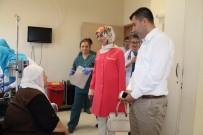 Bayan Erin'den Kemoterapi Gören Hastalara Ziyaret