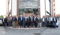 BOZÜYÜK BELEDİYESİ - Bozüyük Ekonomisinin Liderleri TSO'nun Toplantısında Buluştu