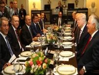 Cumhurbaşkanı Erdoğan ABD'de onuruna verilen öğle yemeğine katıldı