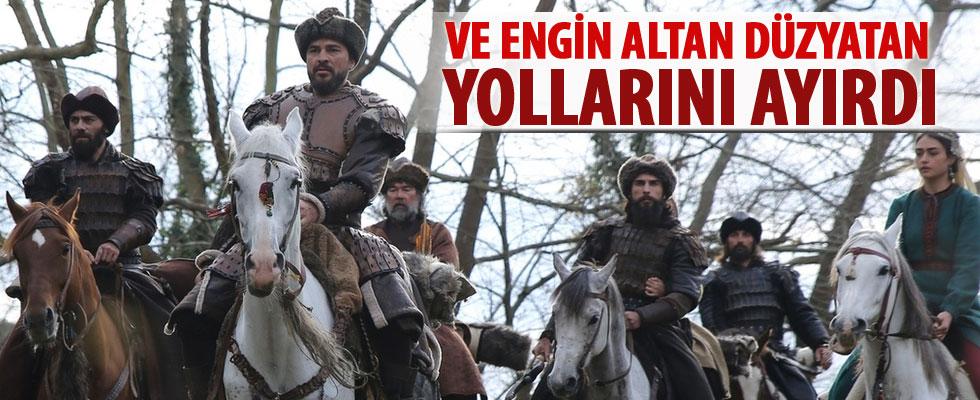 Diriliş Ertuğrul'un başrol oyuncusu Engin Altan Düzyatan yollarını ayırdı
