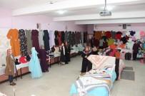 ESNAF ODASı BAŞKANı - Ev Hanımları El Emeği Ürünlerini Sergiledi