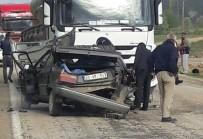 Gümüşhane'de Trafik Kazası Açıklaması 1 Ölü, 1 Yaralı